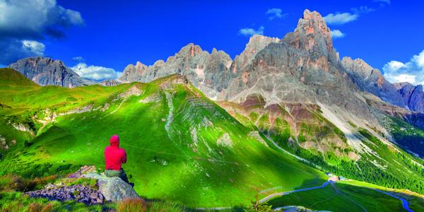 Berglandschaft Trentino