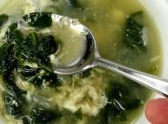 Stracciatella con spinaci
