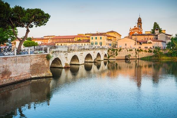 Lust auf Italien, Reisen, Emilia-Romagna, Rimini, ponte tiberio