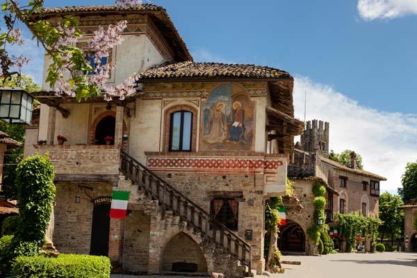 Lust auf Italien, Reisen, Emilia-Rogmagna, Piacenza, Grazzano Visconti