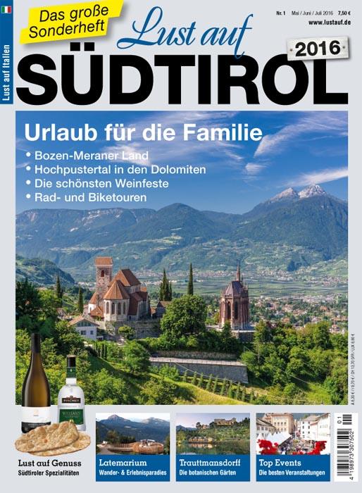 Lust auf Südtirol 2016