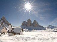 Winter im Land der Drei Zinnen