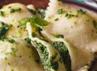 Käse-Spinat-Ravioli in brauner Salbeibutter