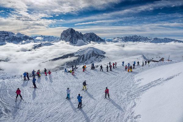 Skifahren ValGardena