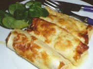 Lachs-Cannelloni gratiniert
